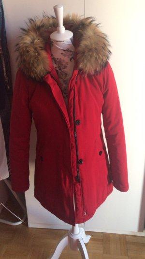 Attentif Winter Jacket brown-red