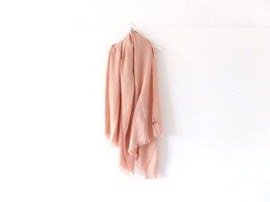 XXL Mango Touch Schal rosa riesengroß