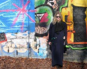 XXL Mantel, Cashmere+Wolle, dunkelblau S-L