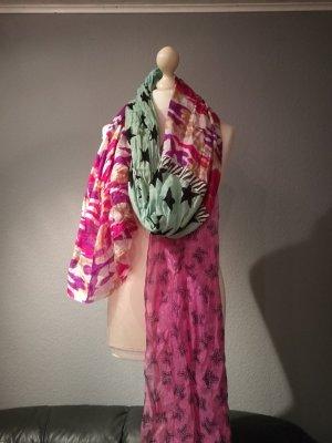Plomo o plata Silk Scarf multicolored