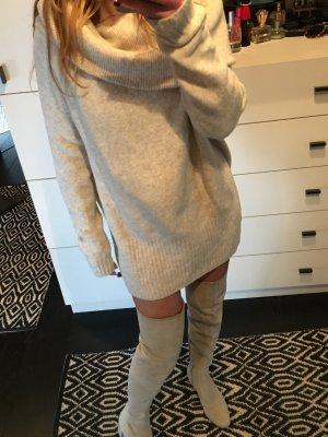 Xxl Pullover Maxi Pulli oversize longpulli strickkleid overknee