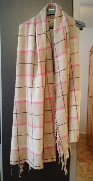 XXL Schal H&M beige groß rosa beige Winter warm cozy