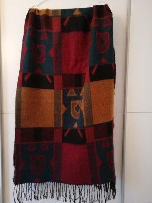 XXL Schal in leuchtenden Herbstfarben