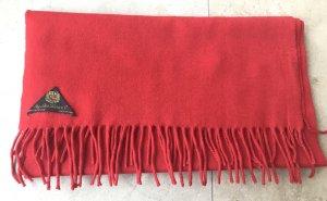 Loro Piana Sciarpa in cashmere rosso