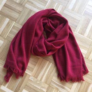 Codello Écharpe rouge carmin