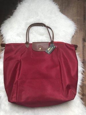 XXL Shopper Handtasche Rot Neu