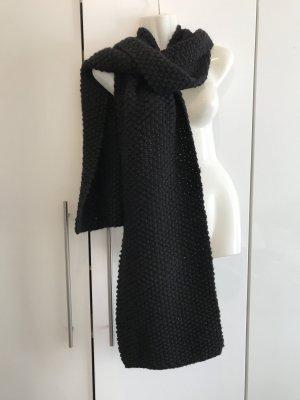 XXL Strickschal schwarz