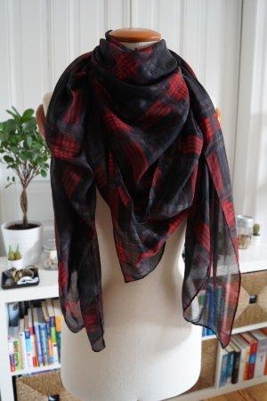 H&M Neckerchief black-red