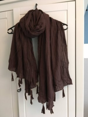 Clockhouse Scarf brown