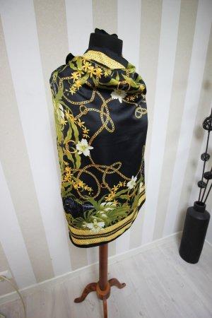 Kerchief black-gold-colored