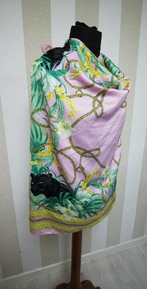 Kerchief pink-black