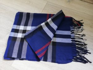 Fringed Scarf multicolored synthetic
