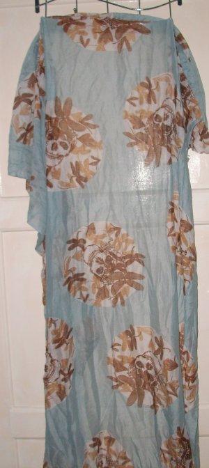 Neckerchief light blue-brown