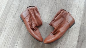 XXX Booties Slouch Boots Ankles Ankleboots Stiefelette Anklebooties Cognac
