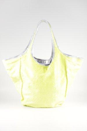 Xyxyx Borsa shopper giallo pallido-argento elegante