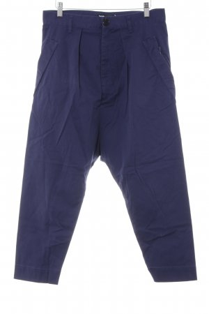 Y-3 Baggy Pants blau Street-Fashion-Look