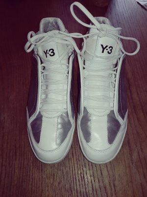 Y-3 Schuhe Weiß-Silber 38