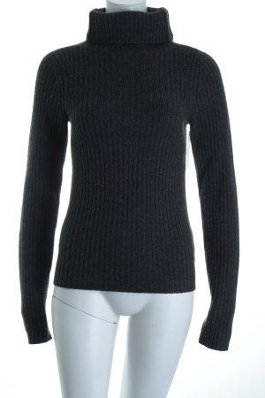 Y-3 Wollpullover dunkelgrau minimalistischer Stil