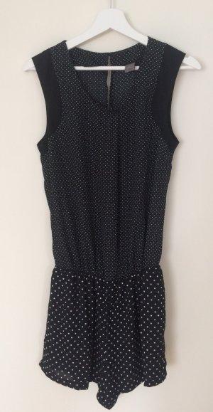 YAS Jumpsuit black-white polyester