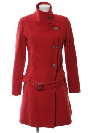 Y London Manteau court rouge style décontracté