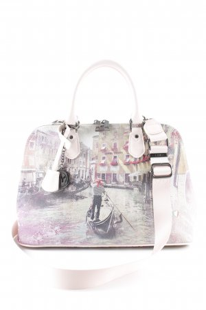 Y Not? Carry Bag abstract print casual look