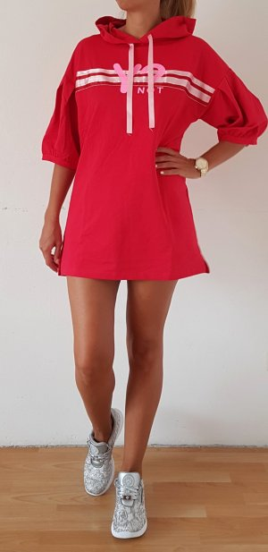 Y Not? Sweater Dress red