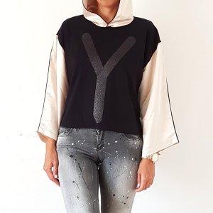 Y NOT? Sweatshirt Pullover Pulli Kaputzenpulli Gr. S