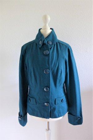 Y.O.U. Übergangs Jeans Jacke türkis blau petrol Gr. 36 S