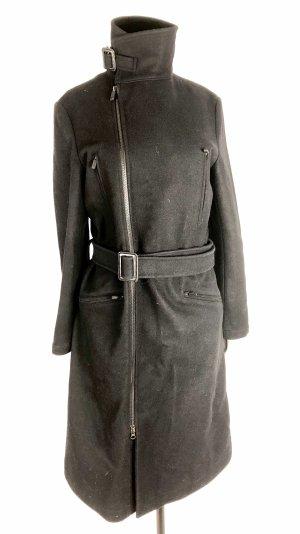 Yohji Yamamoto Cappotto in lana nero