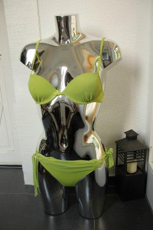 Yamamay Bikini edel Italien Grün Apfelgrün wie NEU Gr. 32/34 XS/S