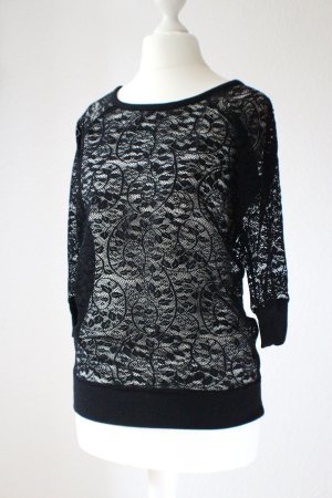 Yamamay Short Sleeve Sweater black