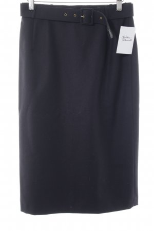 Yarell Pencil Skirt dark blue business style