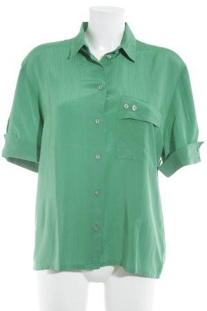 Yarell Kurzarm-Bluse grün Casual-Look