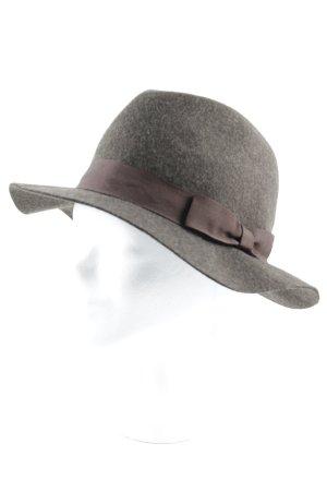 Yargici Filzhut graubraun extravaganter Stil