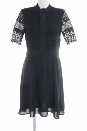 YAS A-Linien Kleid schwarz Elegant