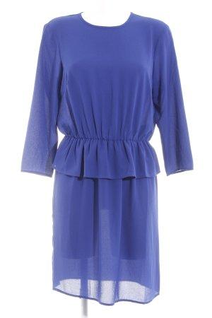 YAS Blusenkleid blau Party-Look