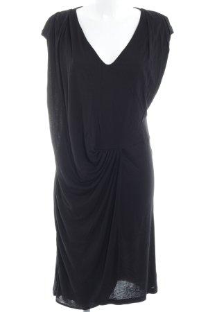YAS Jerseykleid schwarz Casual-Look