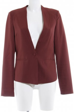 YAS Long-Blazer braunrot Business-Look