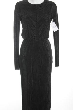 YAS Maxikleid schwarz Elegant