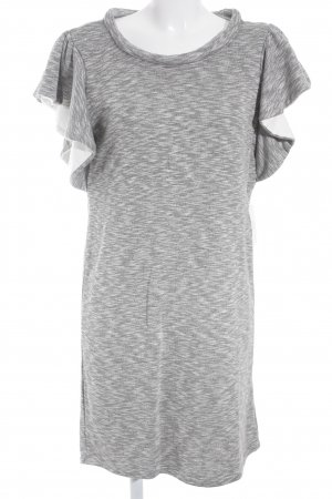 YAS Shirtkleid grau Casual-Look