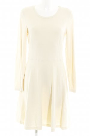 YAS Strickkleid creme Casual-Look