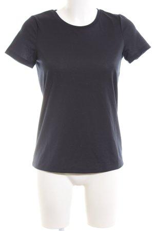 YAS T-Shirt schwarz Casual-Look