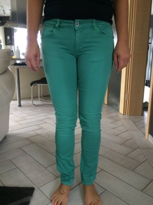 YAYA Jeans in grün Gr. 40