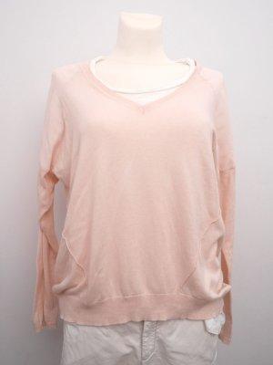 YAYA: Oversize Pullover * Sommer * Größe L * Cremton * Rose * Luftig * wie NEU!