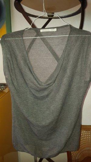 Yaya Fine Knitted Cardigan silver-colored-grey