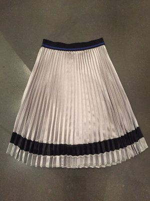 Yaya Pleated Skirt silver-colored