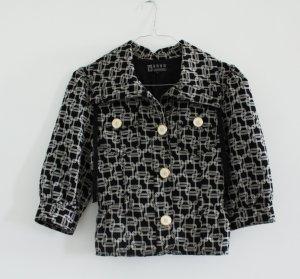 YAYA Sophisticated Jacke Blazer Vintage Jacket elegant schwarz 38 M