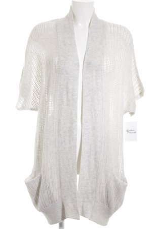 Yaya Strick Cardigan hellgrau Casual-Look