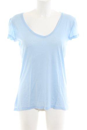 Yaya T-Shirt blau Casual-Look