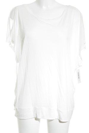 Yaya T-Shirt weiß Casual-Look